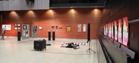 IB-Arts-näyttely järjestetään joka kevät Tilun auditoriossa.