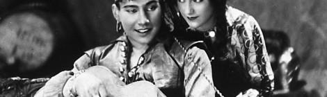 Mustalaishurmaaja vuodelta 1929 edustaa IhmeFilmi-sarjassa mykkäelokuvan kautta. Kuva: IhmeFilmi.