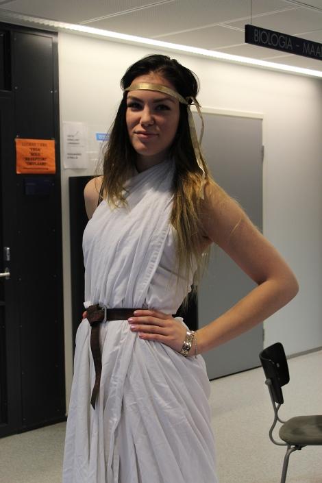 Vaikutteita antiikin Kreikasta? Kuva: Pipsa Hämäläinen ja Tua Valtonen