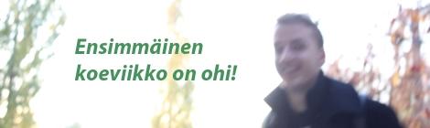 Daniel Placeres Miranda iloitsee hyvin menneestä ykkösjaksosta. Kuva: Antti Pentikäinen.