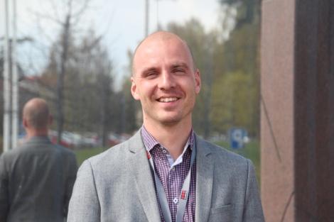 Ari Ranki haluaa kehittää kaikkien tilulaisten hyvinvointia. Kuva: Kaisa Kettunen.
