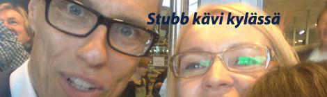 Pääministeri Stubb ja Eeva Kantola Tilussa. Selfie: Eeva Kantola