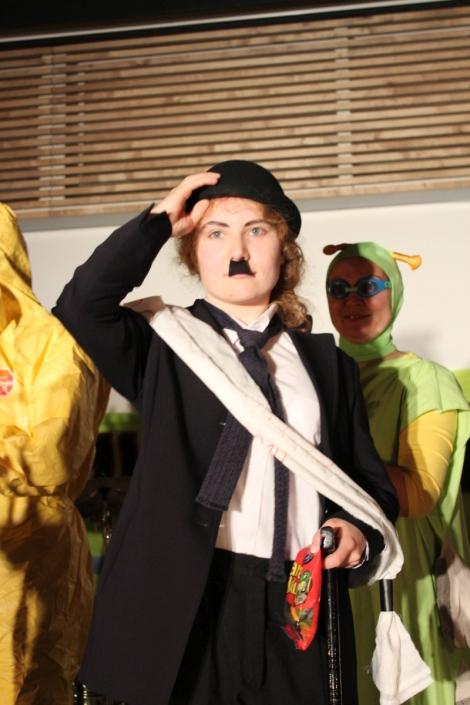 Chaplin sijoittui kisassa. Kuva: Antti Pentikäinen