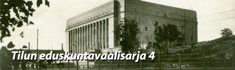 Eduskuntatalon kuva on skannattu postikortista vuodelta 1931. Kuva: eduskunta.
