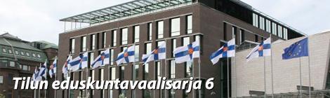 Pikkuparlamentti sijaitsee Eduskuntatalon vieressä. Kuva: Vesa Lindqvist/Eduskunta.