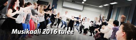 Uuden musikaalin treenit ovat alkaneet. Kuva: Antti Pentikäinen.