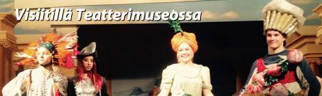 Tilulaisia Teatterimuseossa. Kuva: Mila Griinari.